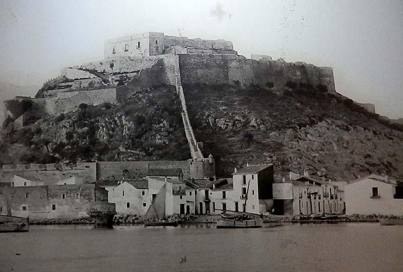 castillo denia fotografía principio siglo XX