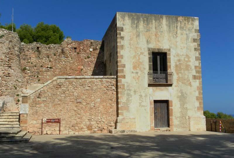 vistas museo arqueológico de denia
