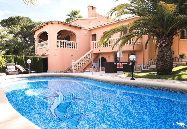 Espectacular alquiler villa de lujo en denia cresolet piscina principal